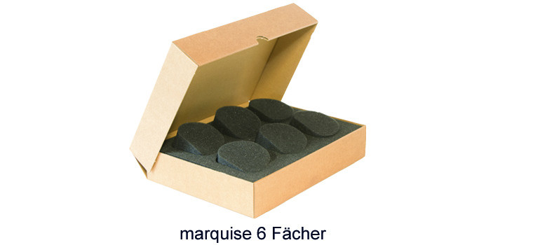 Protecmousse marquise 6 Fächer