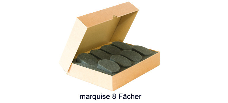 Protecmousse marquise 8 Fächer
