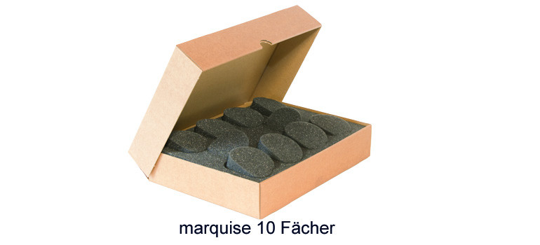 Protecmousse marquise 10 Fächer